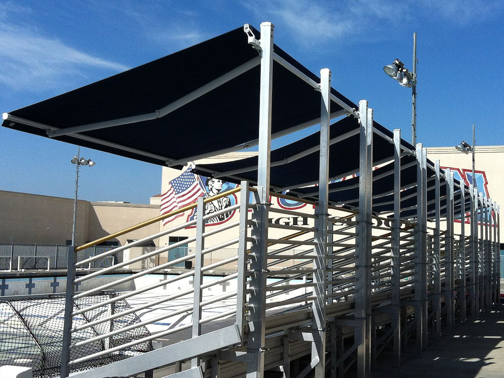 Retractable Shade Awnings   Hurricane Proof