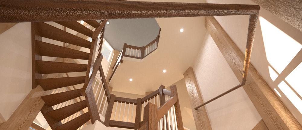 Bayside Cheslight home staircase